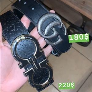 Im selling authentic designers belts discounted.